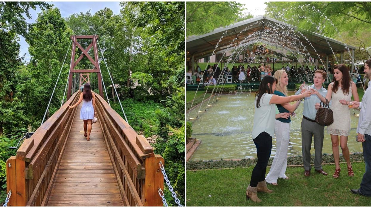 This Houston Garden Is Hosting Evening Parties All August That Will Take You To The Roaring 20s