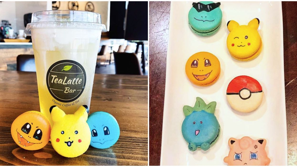This Colorful Tea Shop Near Dallas Serves The Wildest Themed Macarons