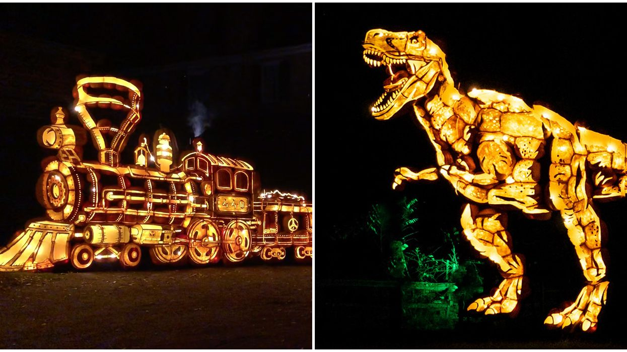 You Can Explore This Halloween Wonderland In Ontario With Thousands Of Glowing Pumpkins Next Month