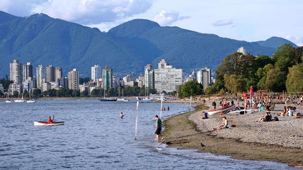 Vets Are Warning Dog Owners That The Sand At Several Vancouver Beaches Is Contaminated