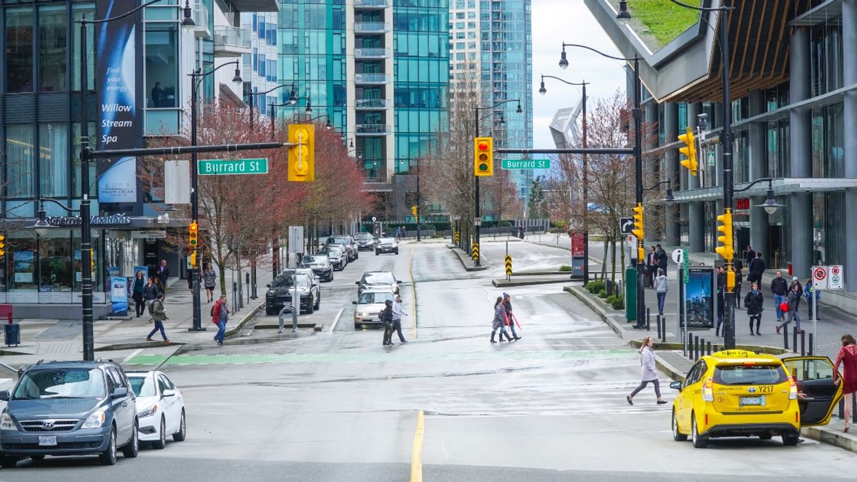 The Internet Is Obsessed With This Man Caught Dancing Across A Vancouver Crosswalk (VIDEO)