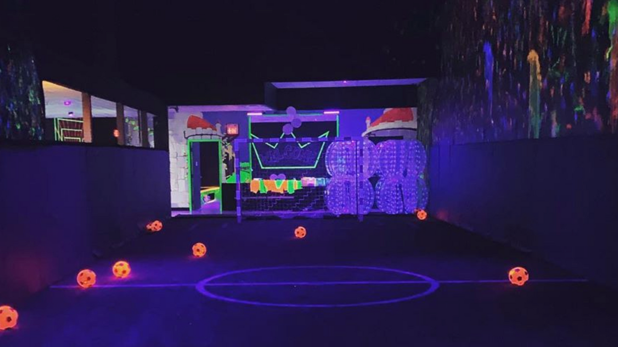 You Can Now Play Glow-In-The-Dark Soccer Near Toronto And It's Lit