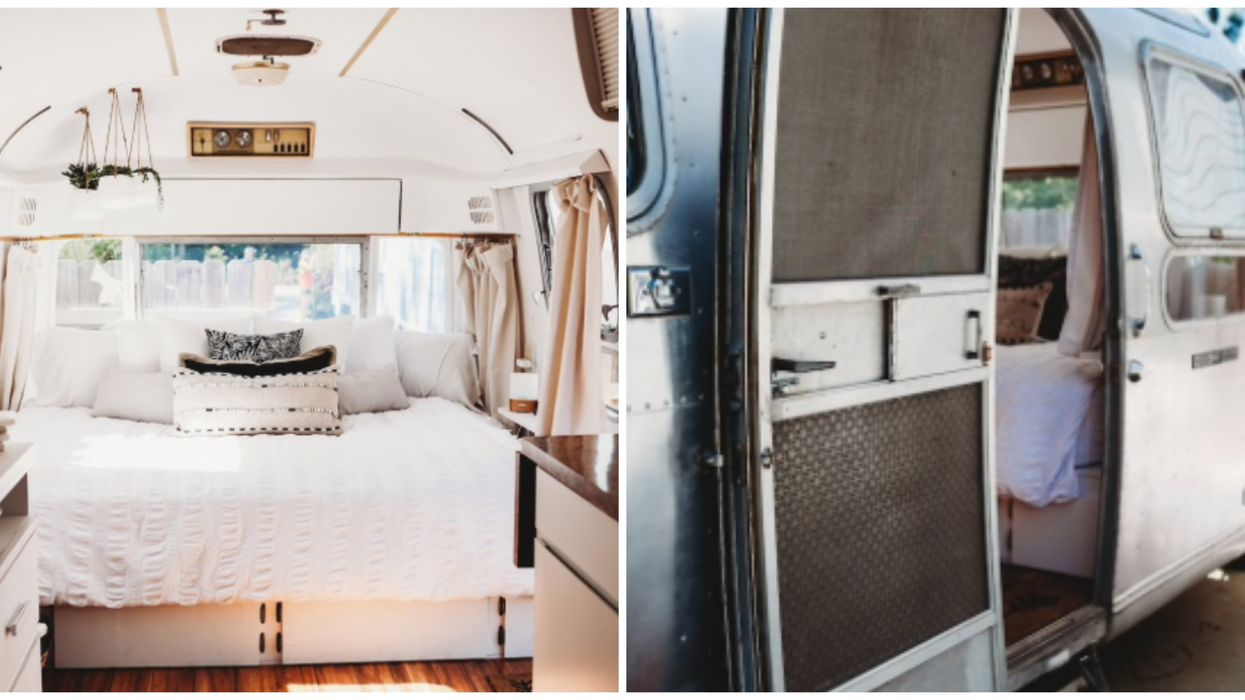 You Can Rent A Vintage Airstream And Have It Delivered For Your Next Florida Glamping Experience