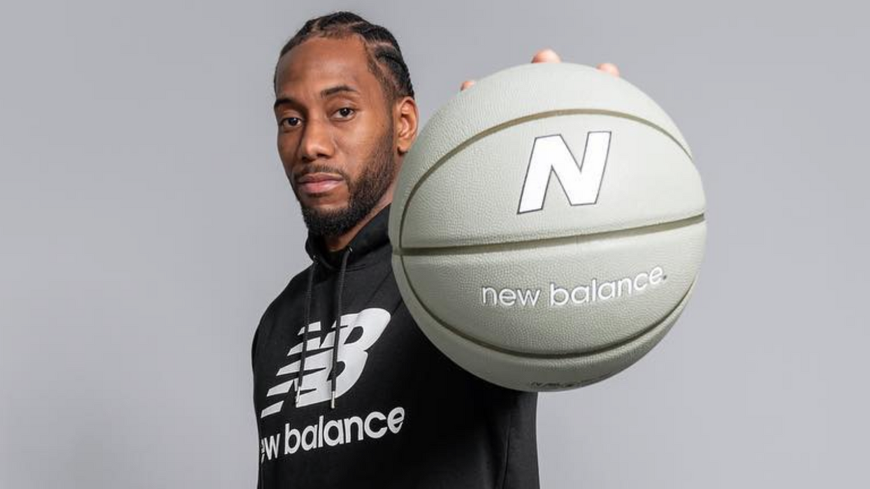 New Balance Canada Is Still Promoting Kawhi Gear & Fans Aren't Here For It
