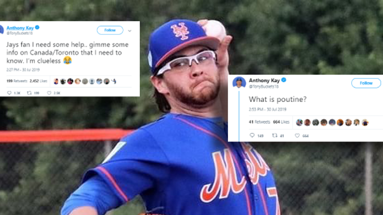 The Toronto Blue Jays' New Pitcher Has No Clue How Canada Works