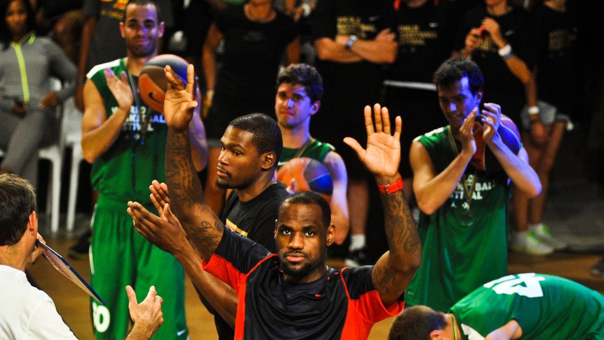 The Internet Is Heavily Divided On Whether LeBron James' Sideline Behavior Is Appropriate