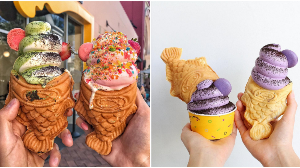 This Popular California Ice Cream & Taiyaki Shop Just Opened Its First Texas Location In Katy
