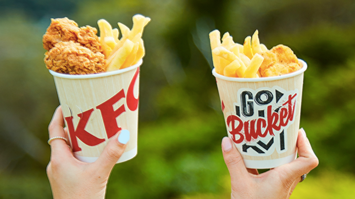 KFC Just Released New Mini Buckets In Canada For Only $3.49 Each