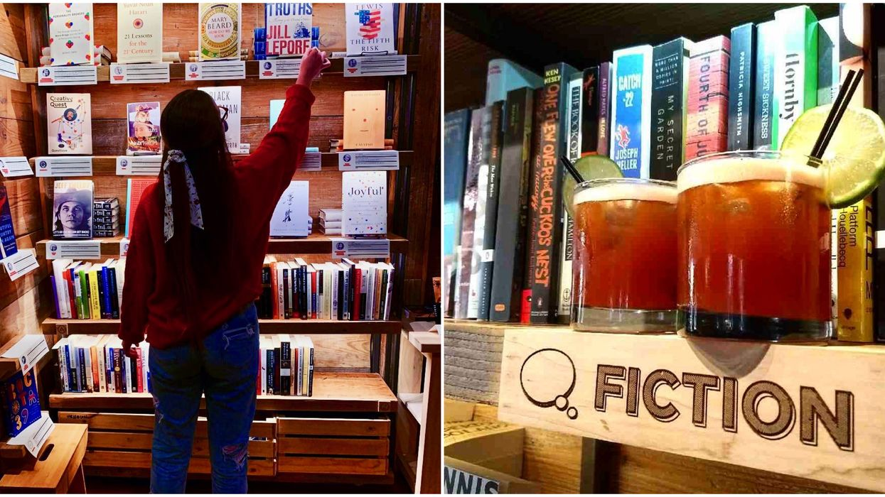 This Dallas Bookstore Is Actually A Full Bar With Book-Themed Drinks
