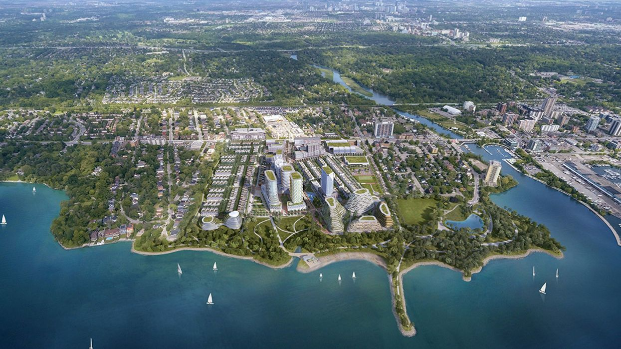 Mississauga Is Officially Getting A Massive New Village By The Waterfront (PHOTOS)