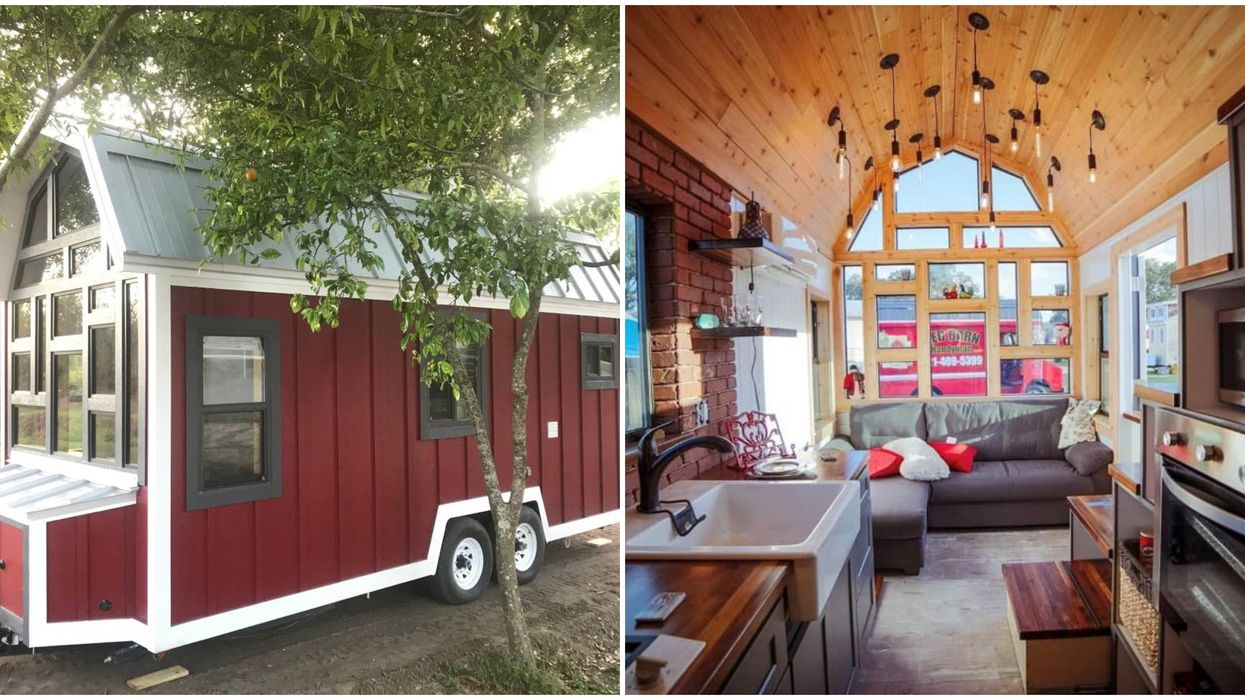 You Can Stay In A Gorgeous Award-Winning Barn Tiny House In Florida For Less Than $25/Person