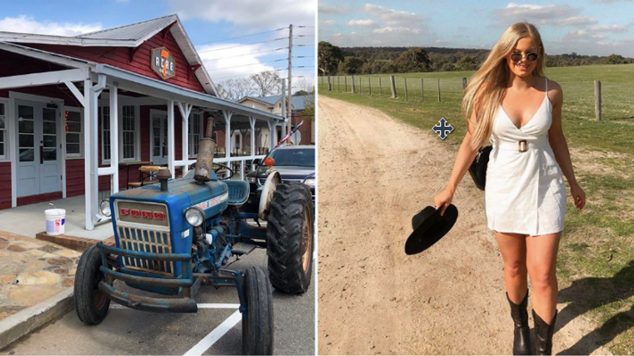 This New Super Cute Rustic Georgia Restaurant And Bar Is Any Cowgirl's Dream Eatery