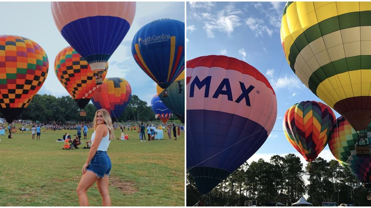 You Can Attend A Huge Hot Air Balloon Festival In North Georgia On Labor Day