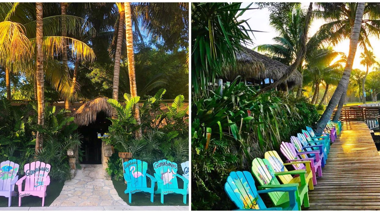 This Tropical-Inspired Restaurant In South Florida Is A Hidden Jungle Hideaway