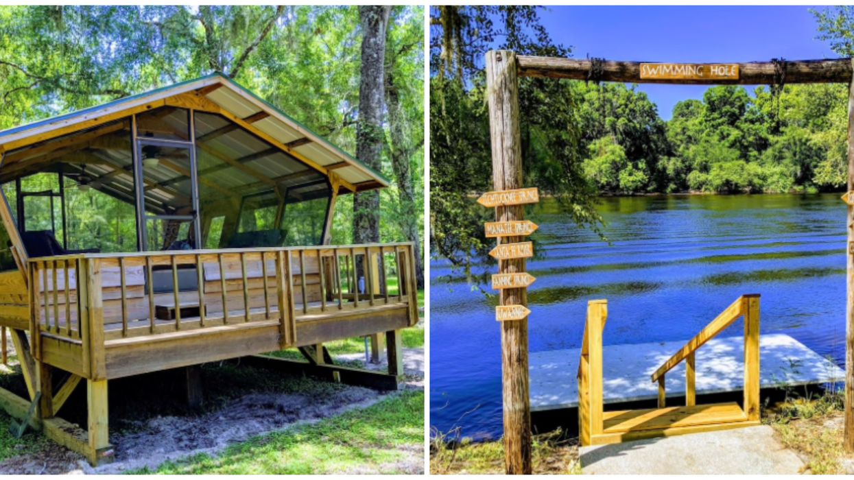 This Super Unique Riverfront Airbnb Offers The Best Glamping Experience In Florida