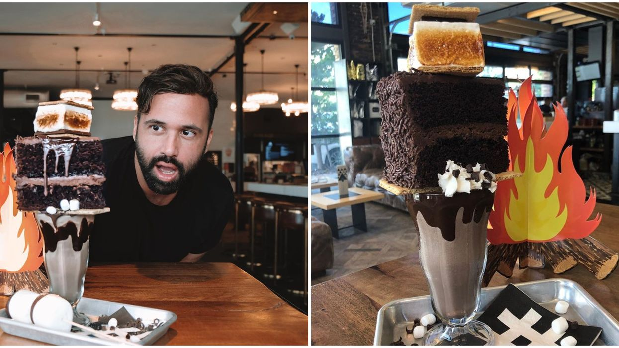 This Sweet Spot In Tampa Just Released Their Limited Time Campfire S'mores Milkshake