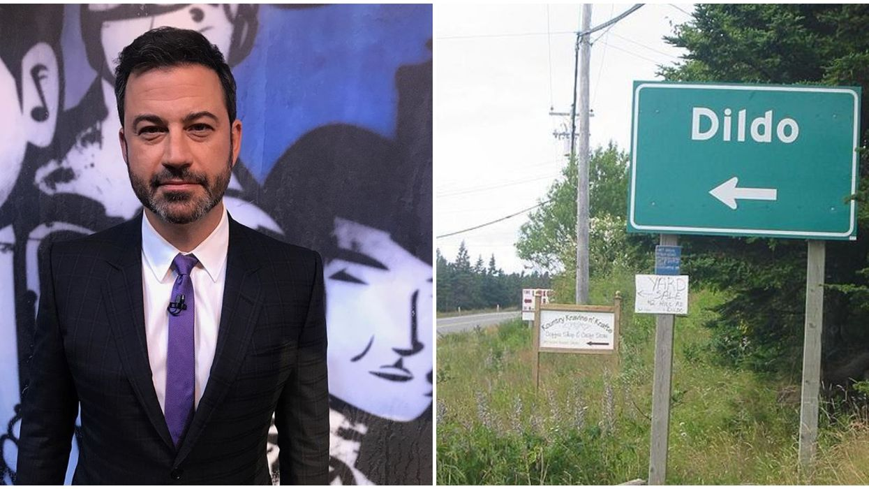 Jimmy Kimmel Just Heard About Dildo, Newfoundland & Now Residents Are Begging Him To Visit