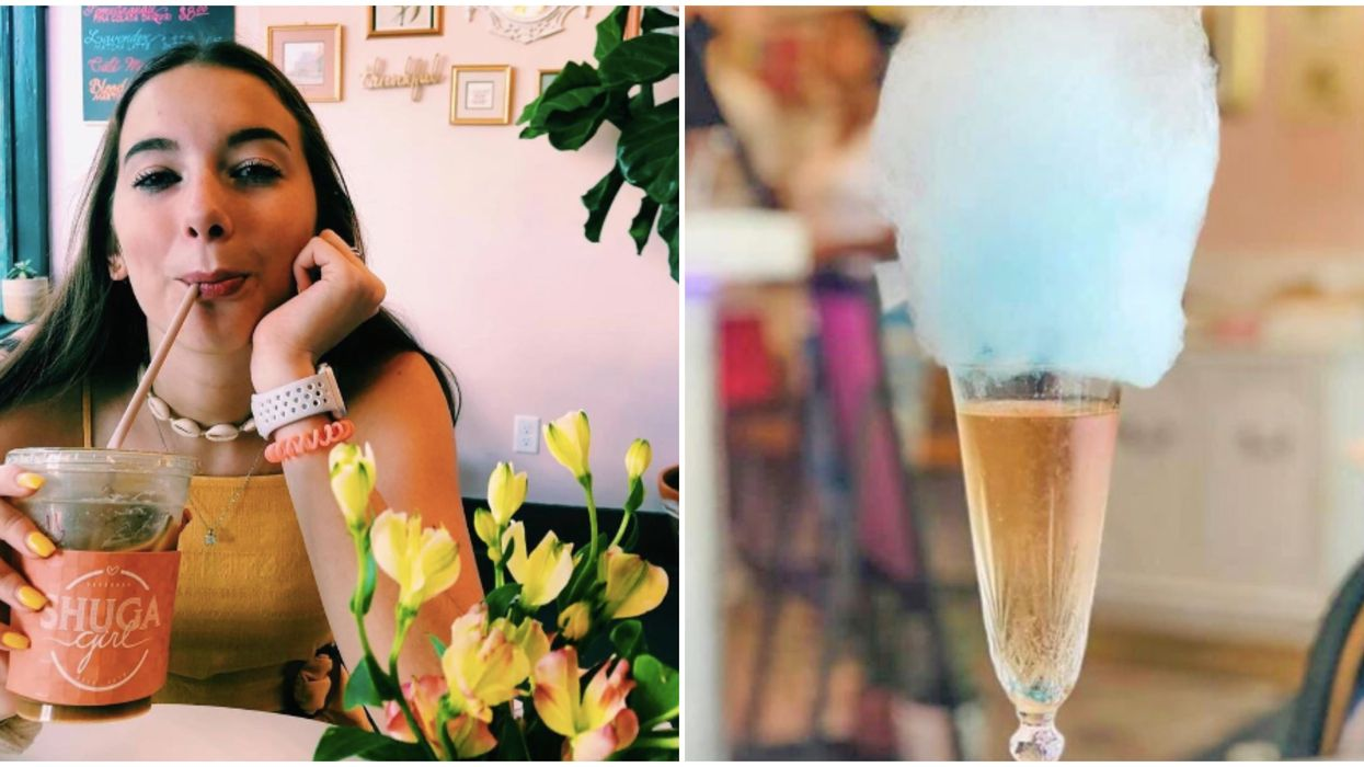 You Can Get Gold-Dusted Cotton Candy Prosecco At This Adorable Hidden Shop In South Georgia