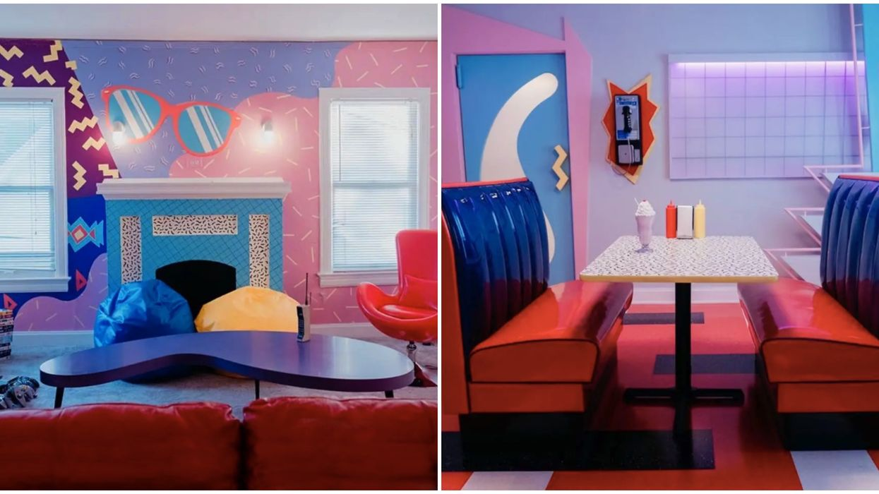 You Can Totally Stay The Night At This '90s Themed Airbnb In Dallas