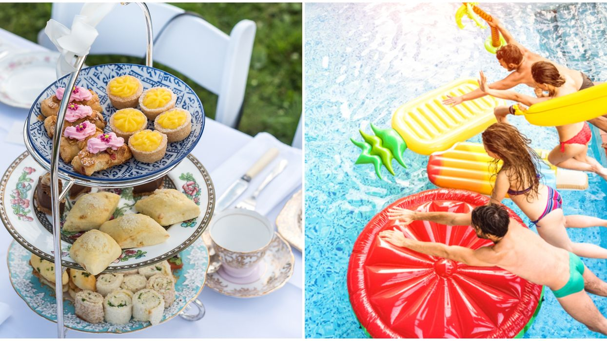 High Tea Pool Party Near Vancouver Is The Ultimate End Of Summer Bash