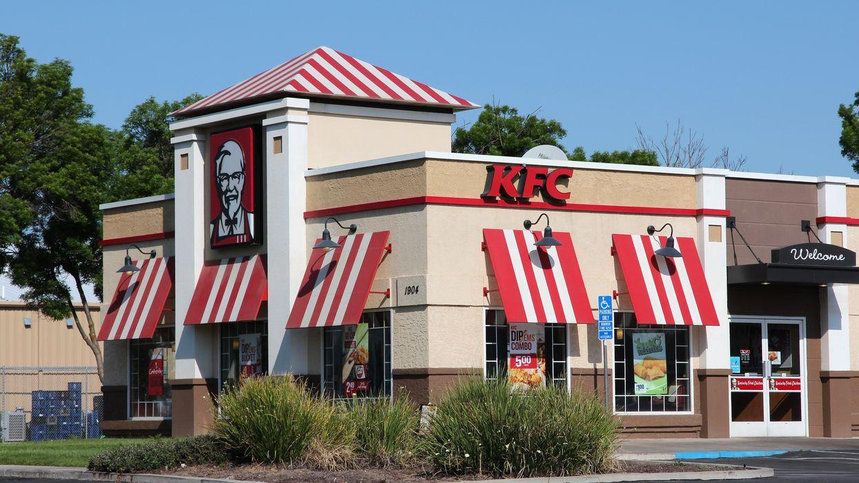 A Car Crashed Into A Calgary KFC, Leaving 3 People Hospitalized (VIDEO)