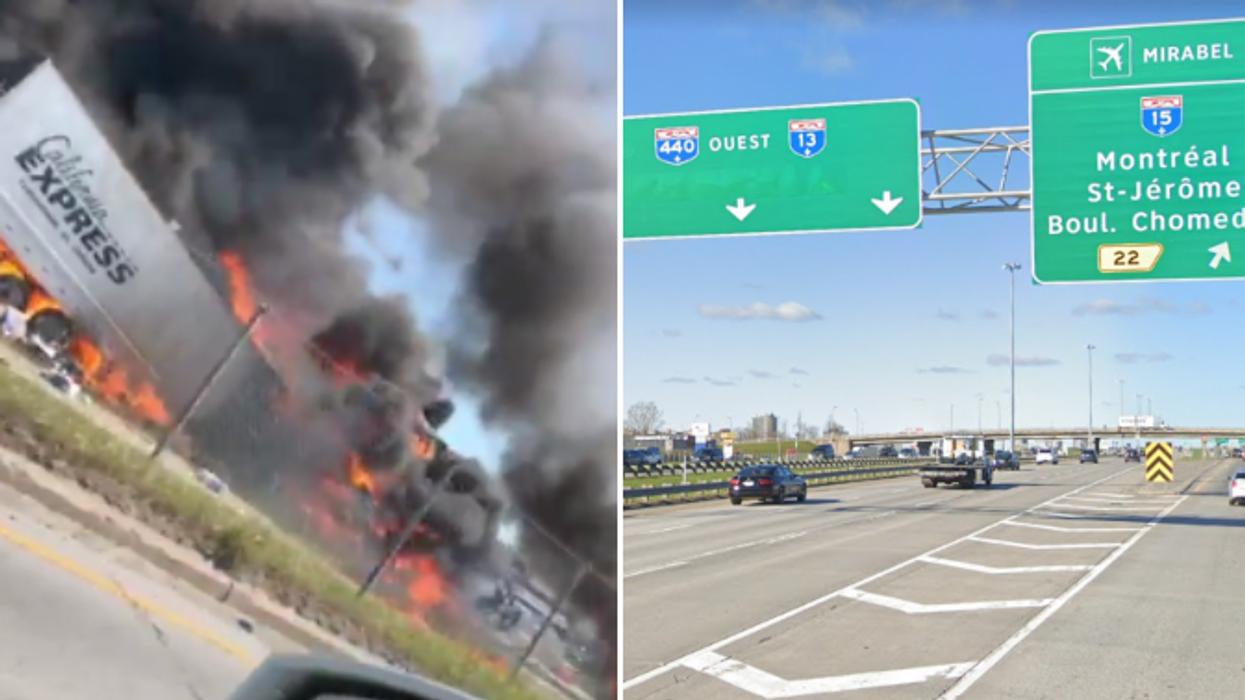 Le ministre des Transports du Québec promet des changements sur l'autoroute 440 suite au carambolage d'hier