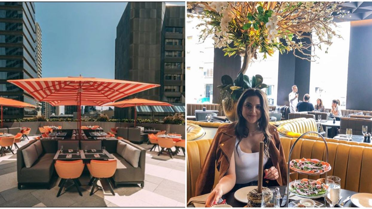 Toronto's Newest Rooftop Restaurant Is The Ideal Spot For A Late Summer Date