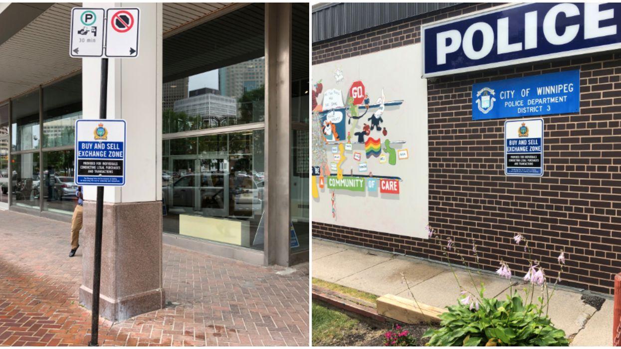 Winnipeg Police Just Added Safe Kijiji Sale Zones To Their Main Stations