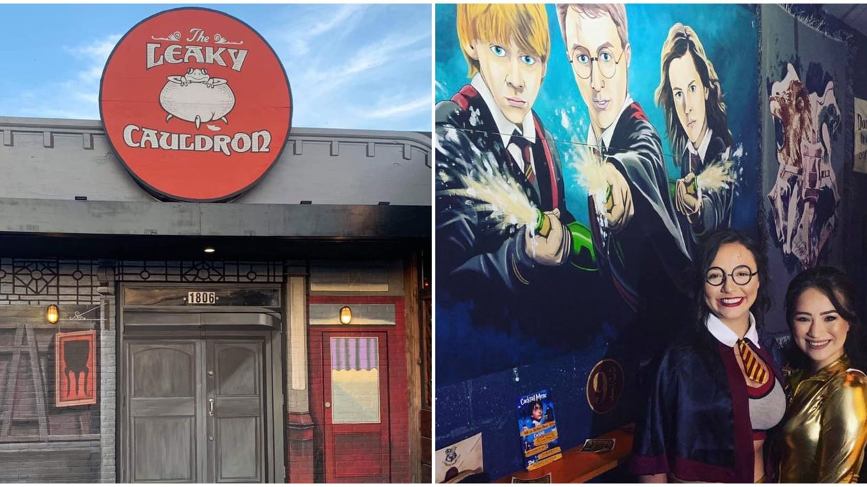 Dallas Is Getting A Harry Potter Bar With Wizardly-Themed Drinks For One Month Only