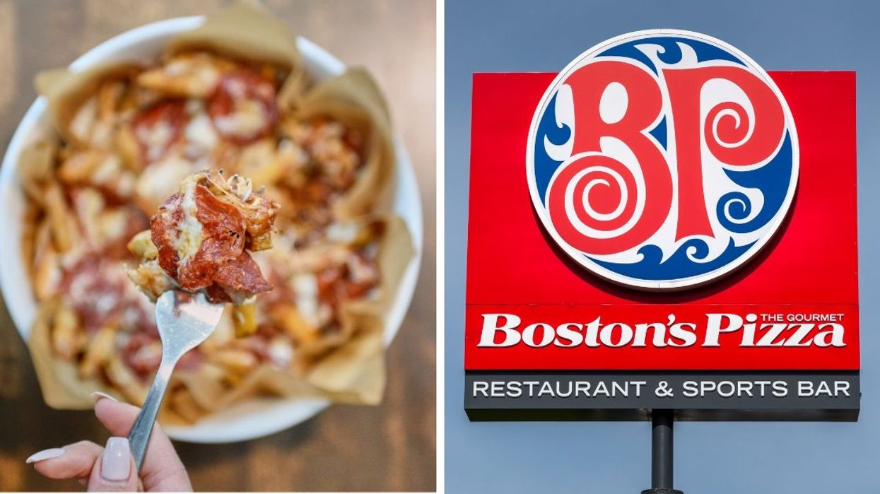 Boston Pizza's New Pizza Poutine Is The Best Canadian Invention Since Ketchup Chips