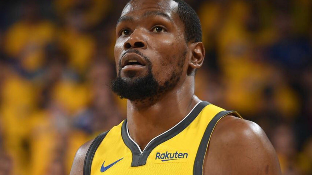 Fans Are Ripping Kevin Durant Apart For His Shady Comment About The Raptors