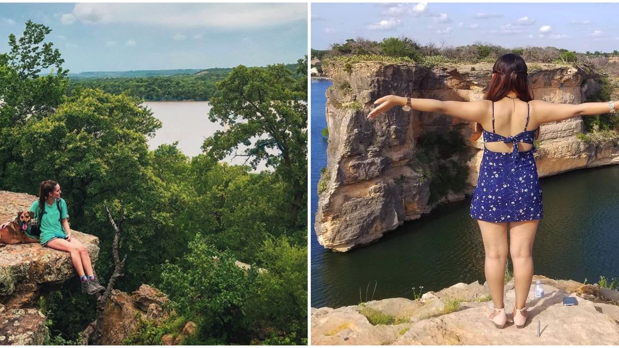 7 Easy Hiking Spots With The Best Views In North Texas