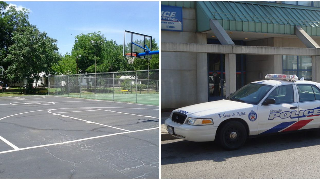 A Toronto Man Was Shot In The Butt On A Basketball Court Last Night