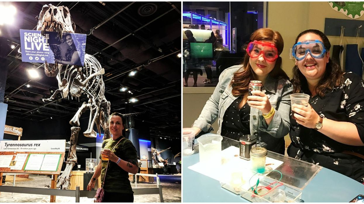 This Central Florida Science Center Is Hosting An Adults-Only Night With Booze This Weekend
