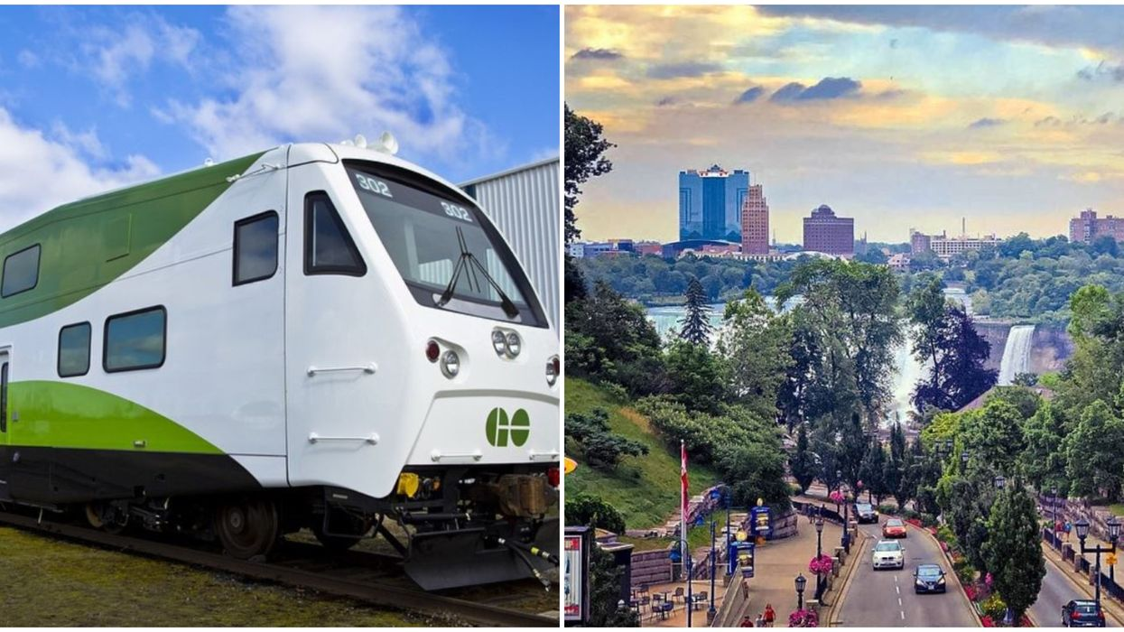 GO Transit's Niagara Weekend Deal Ends Next Month So Use It Before You Lose It