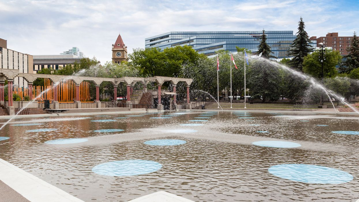 Calgary's Famous Wading Pool Is Currently Closed Because It's Full Of Sh*t