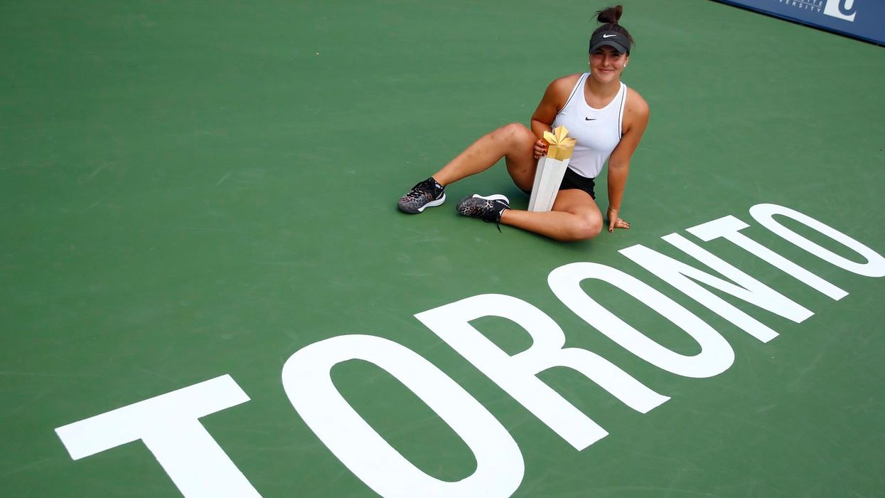 Canadians Are Celebrating Bianca Andreescu's Historic Rogers Cup Win, Even With Serena Williams' Withdrawal
