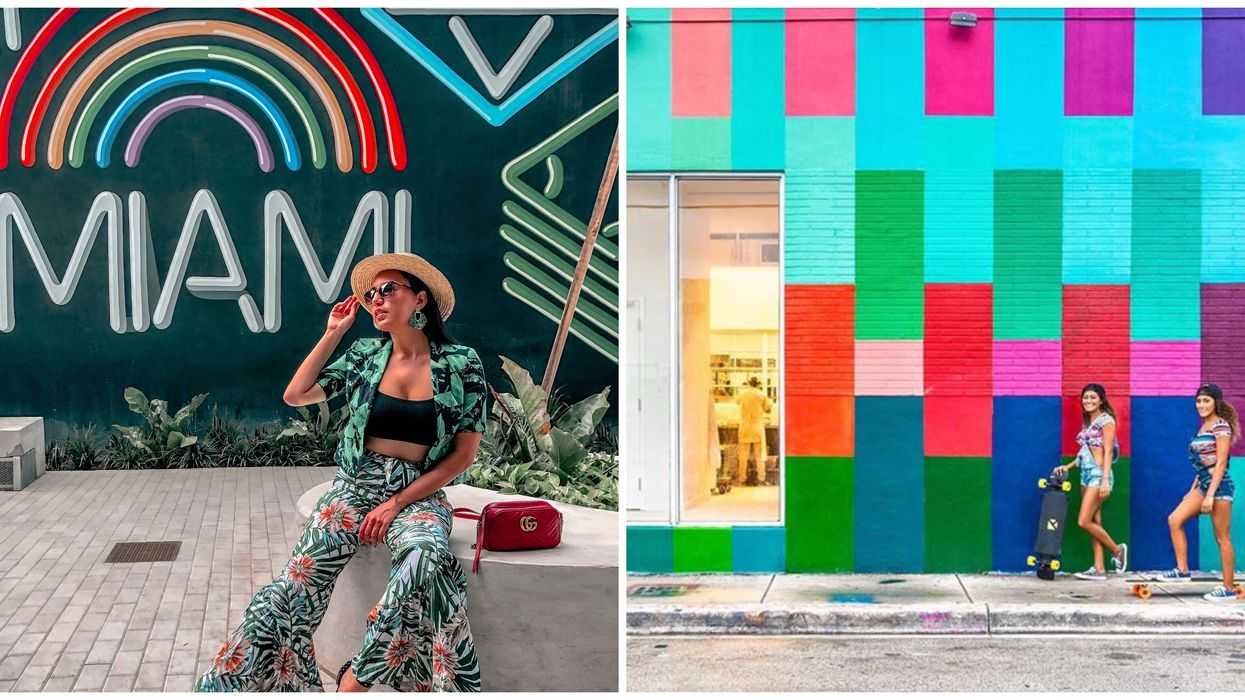 These 8 Hidden Murals In Miami Offer The Perfect Free Backdrops For Your Pics