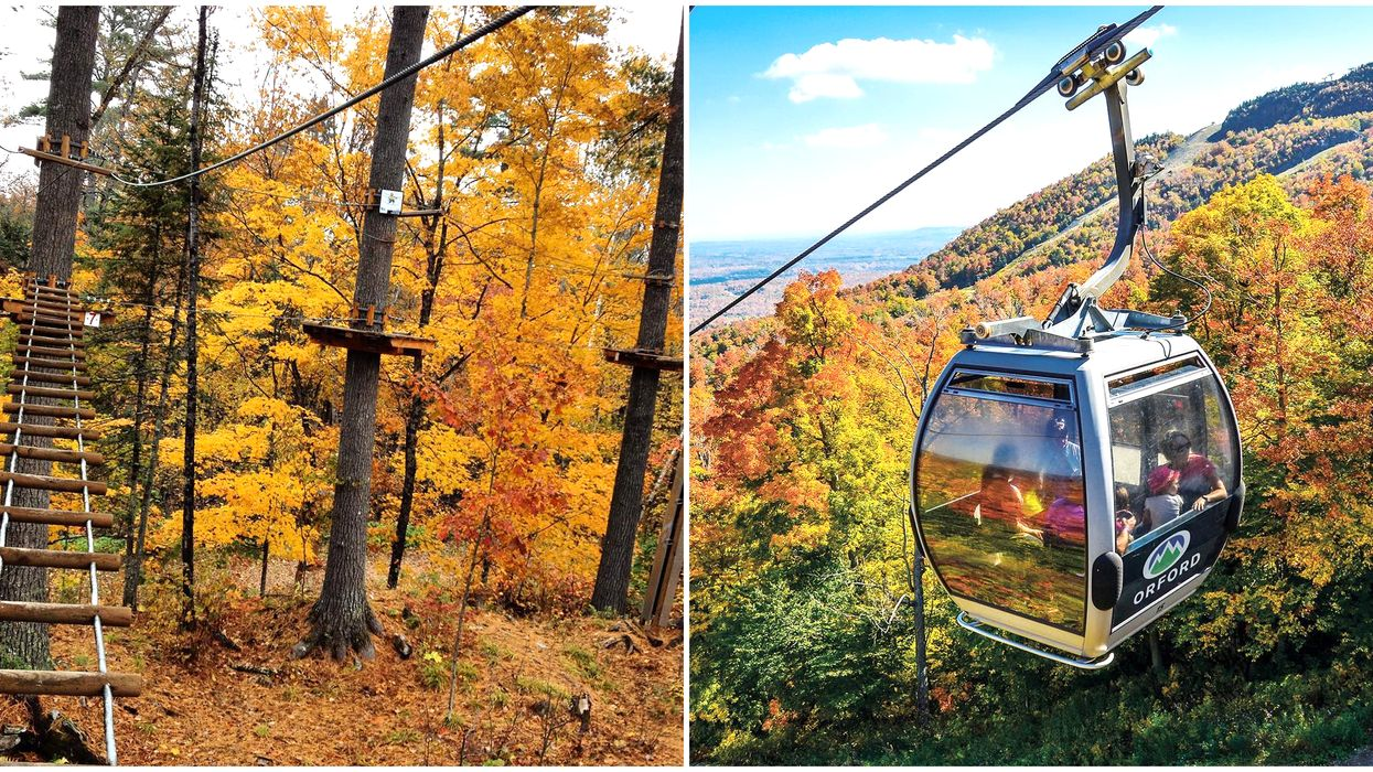 Here Are 6 Adventures In Quebec Where You Can Enjoy The Leaves Changing Colour