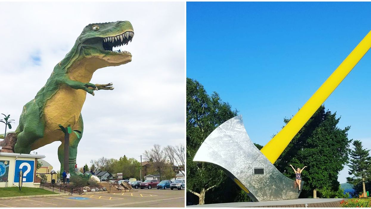 7 Giant Roadside Attractions In Canada That Are So Weird You Have To See Them