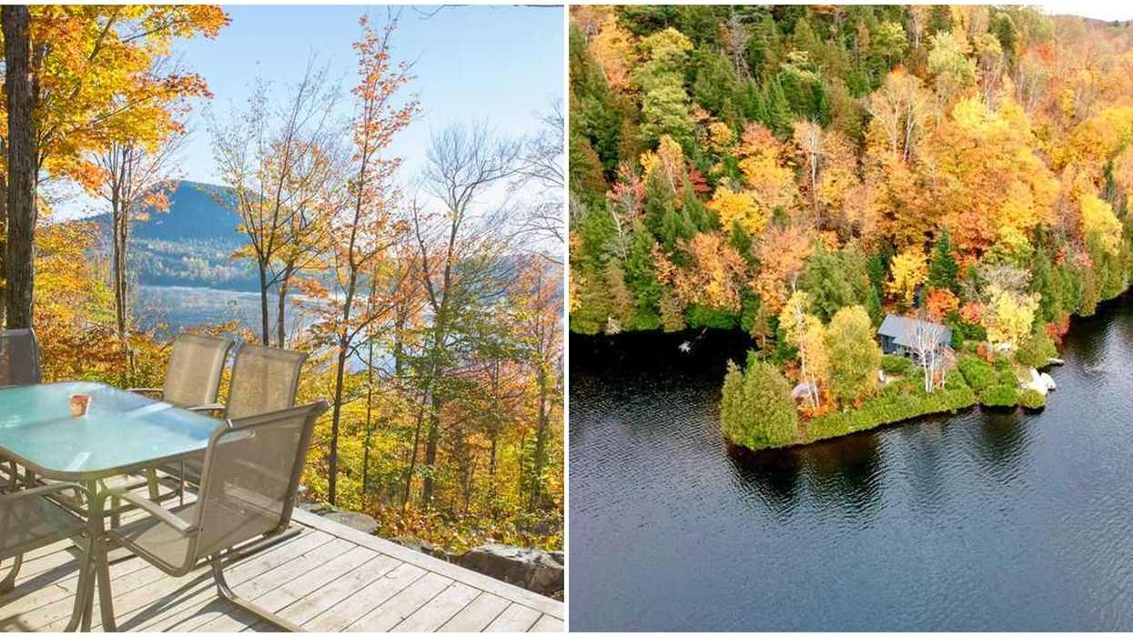 You And The Squad Will Never Want To Leave These Cozy Cottages In Quebec This Fall