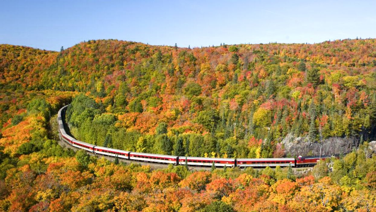 6 Fall Train Tours That Will Give You Jaw-Dropping Views Of The Canadian Countryside