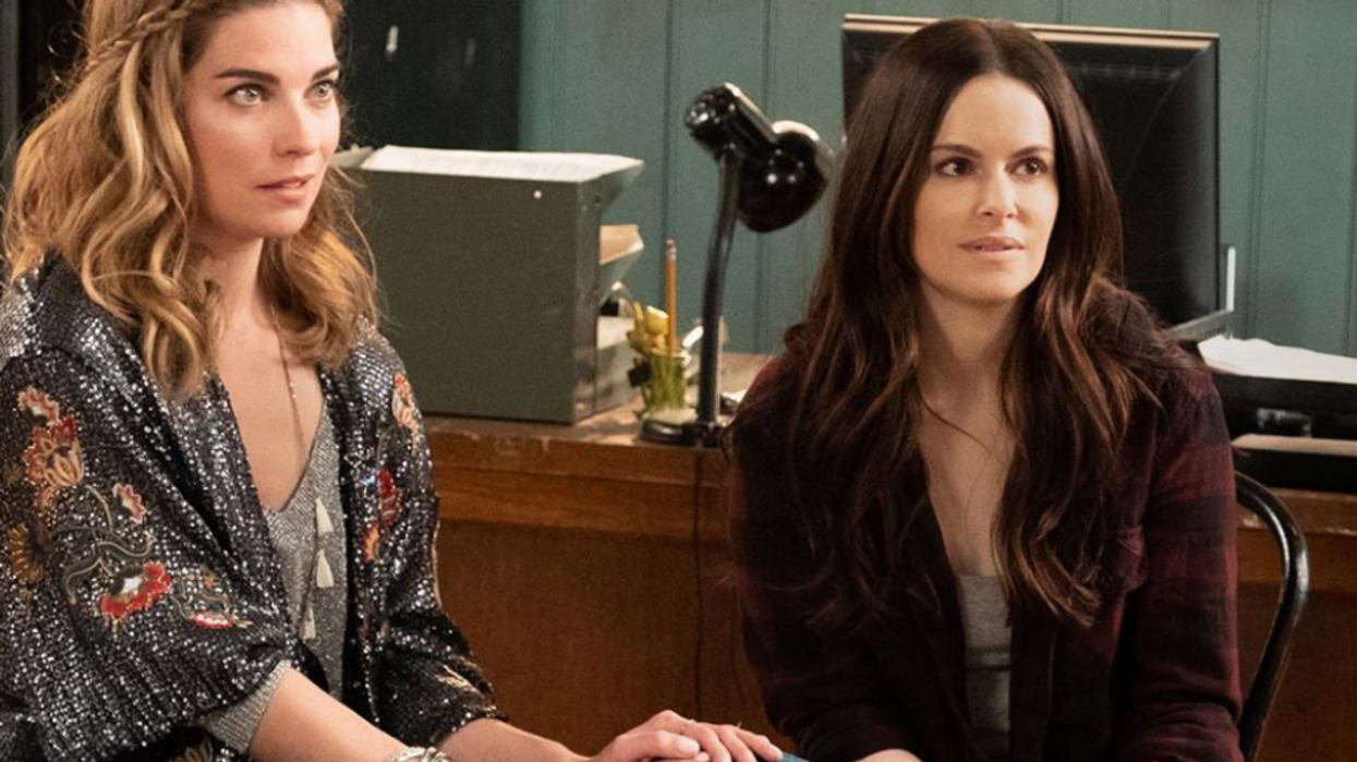 """""""Schitt's Creek"""" Star Emily Hampshire Just Got Cast In An Upcoming Horror Film and We're Freaking Out"""