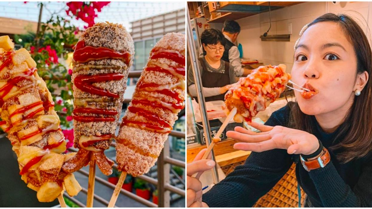 These Cheesy Fried Korean Hotdogs In Georgia Are A Fun Twist On A Classic