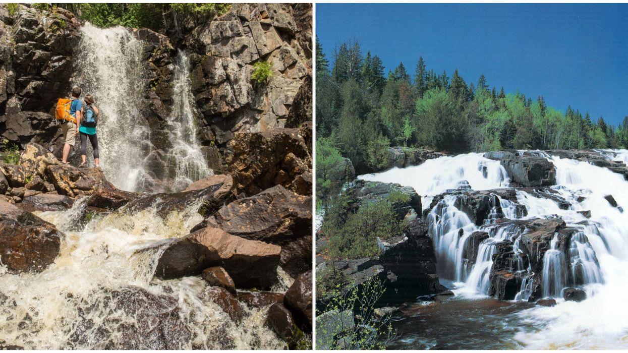Tu pourras découvrir des chutes & endroits secrets lors de cette randonnée à Lanaudière