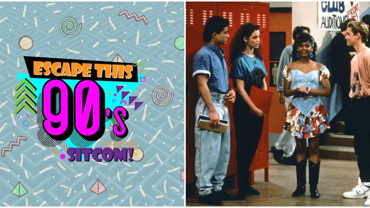 A '90s Sitcom Trivia Escape Room Opens In Toronto In September And We're Already Sold