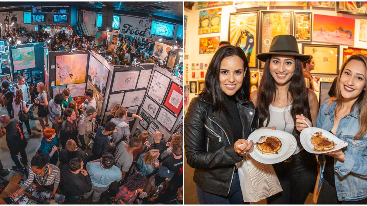 You Can Stuff Your Face On Unlimited Free Pancakes At Toronto's Boozy October Pop-Up Show