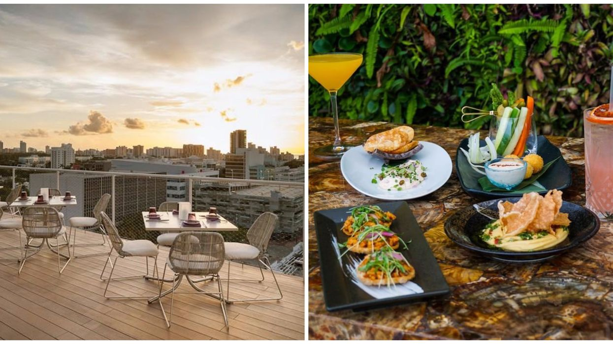 This Miami Beach Rooftop Bar Just Released Their Limited Time Everything-For-$11 Menu