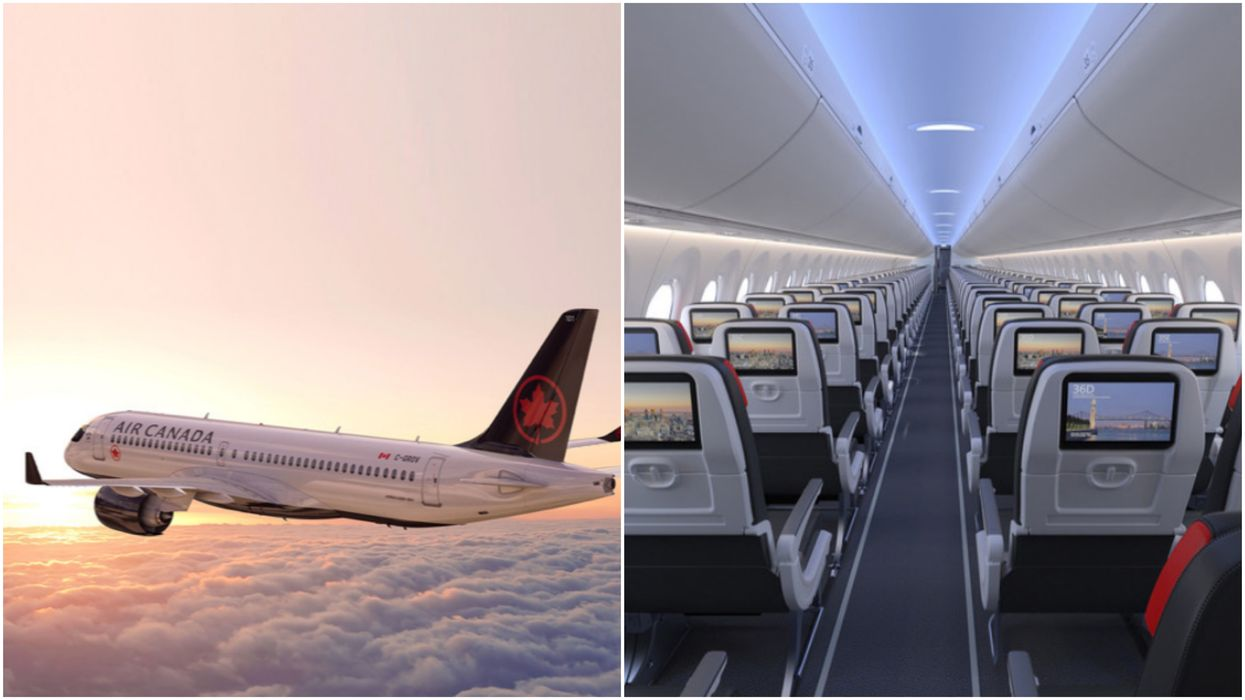 Air Canada Has Revealed A Brand New Plane For 2020 And It Sounds So Bougie