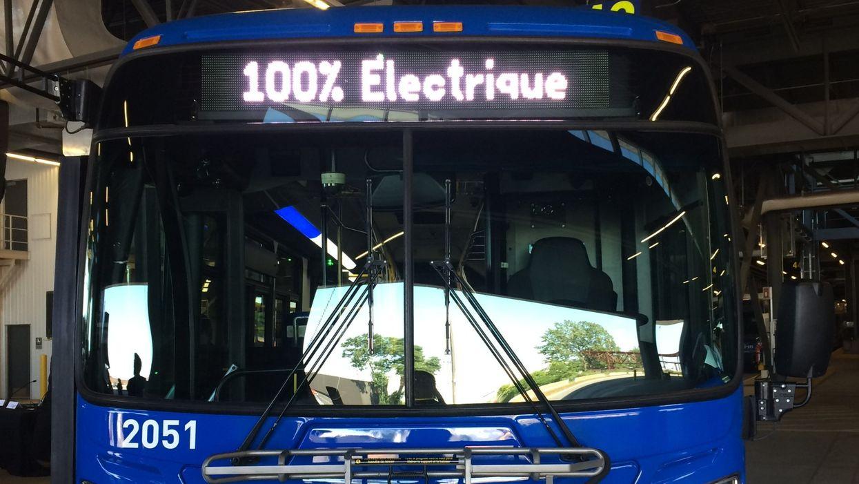 Voici à quoi vont ressembler les autobus 100% électriques à Laval en 2020